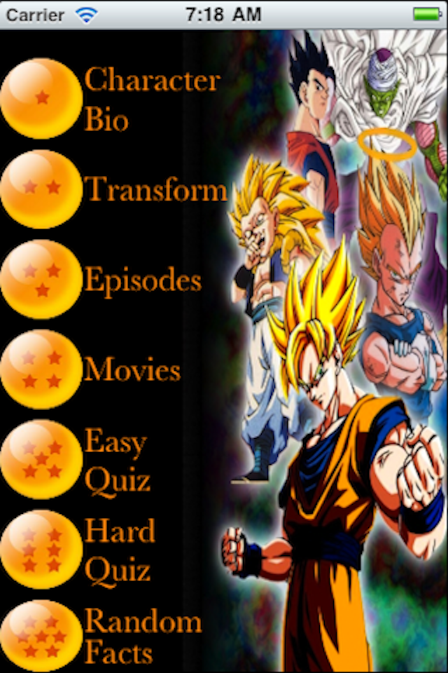 Screenshot Ultimate DragonBall Z